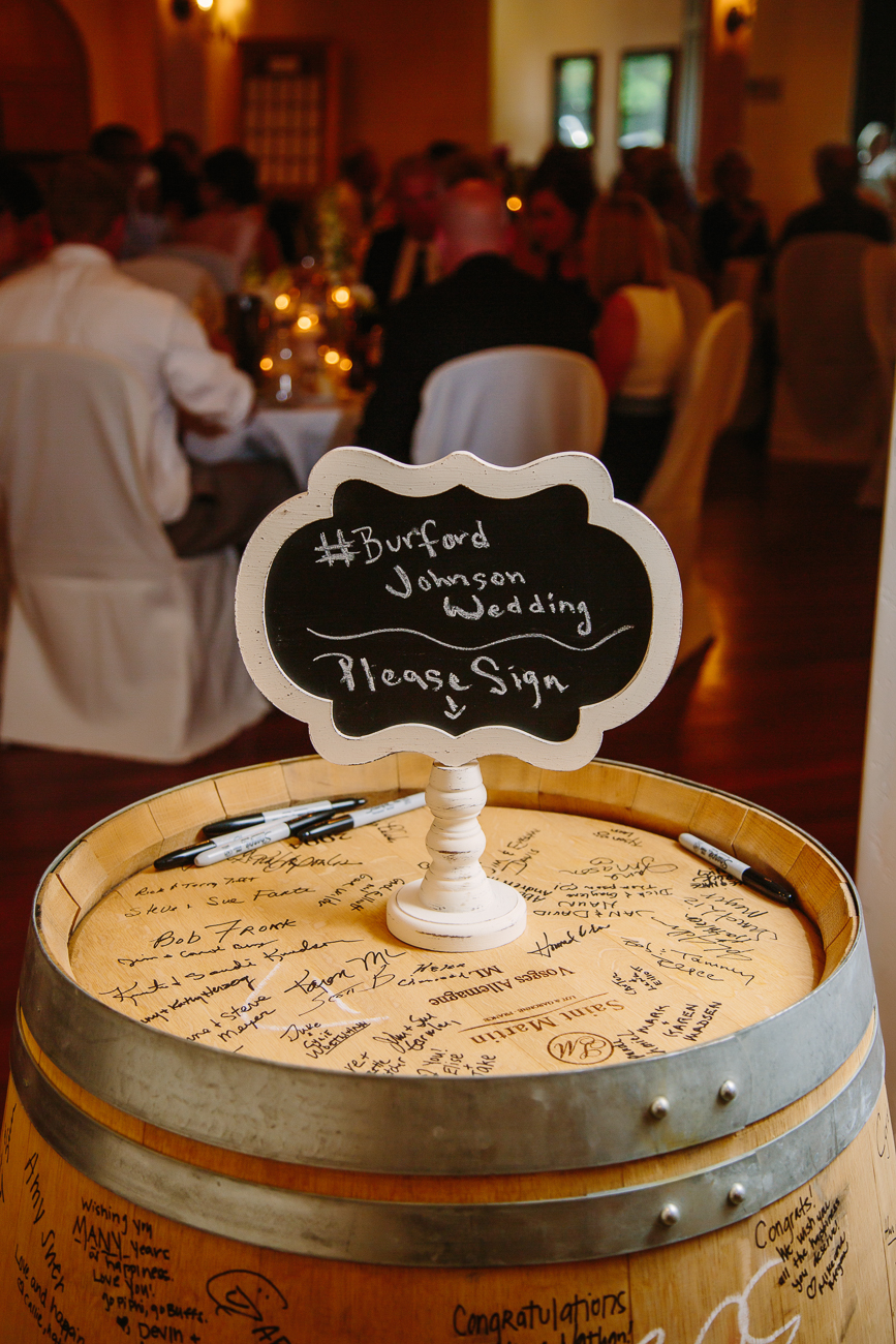 Creative Wine Barrel Guest List | Cay Mayer Studio | www.catmayerstudio.com