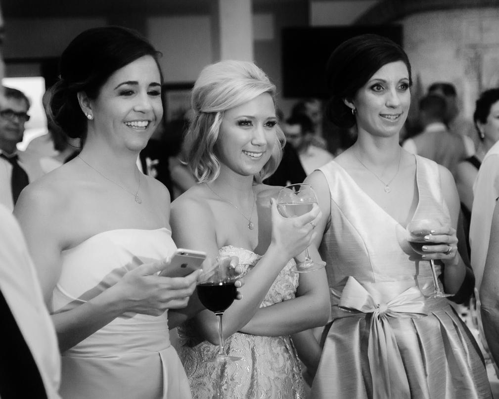 Guest Smile During Grand Junction Wedding | Cay Mayer Studio | www.catmayerstudio.com