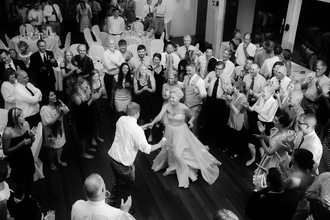 Dance Circle Around Bride | Cay Mayer Photogaphy | www.catmayerstudio.com
