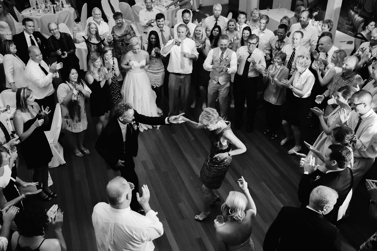 Dance Circle During Reception | Cay Mayer Studio | www.catmayerstudio.com