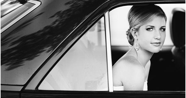 Telluride bride in getaway car