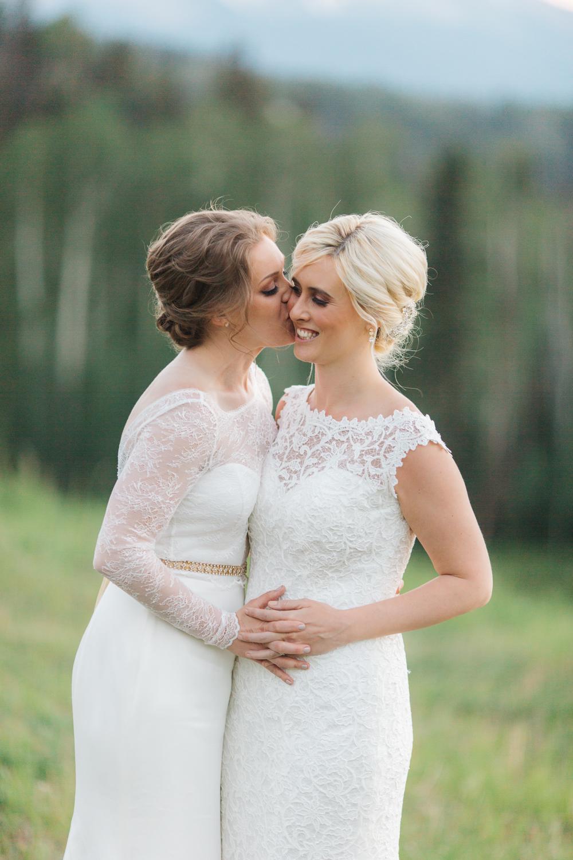 Lesbian Destination Wedding in Telluride