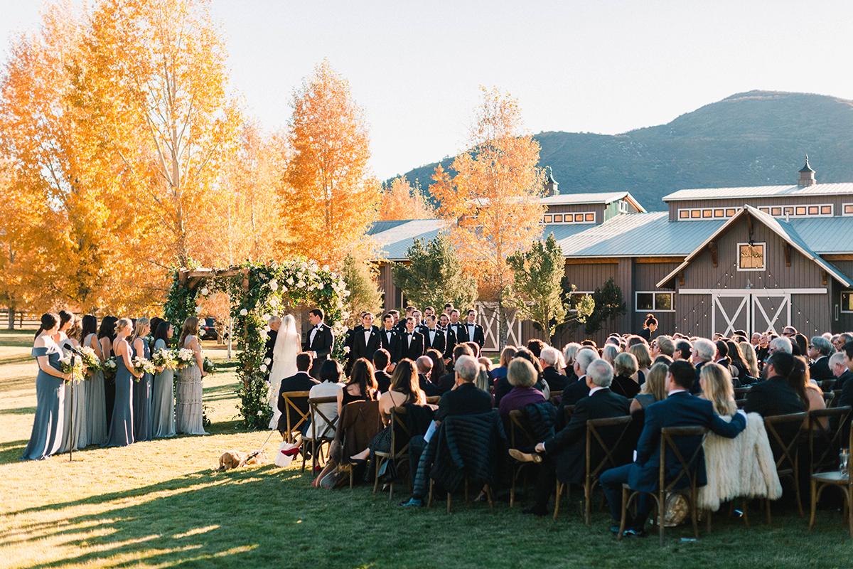 Chaparral Ranch Aspen Destination Wedding