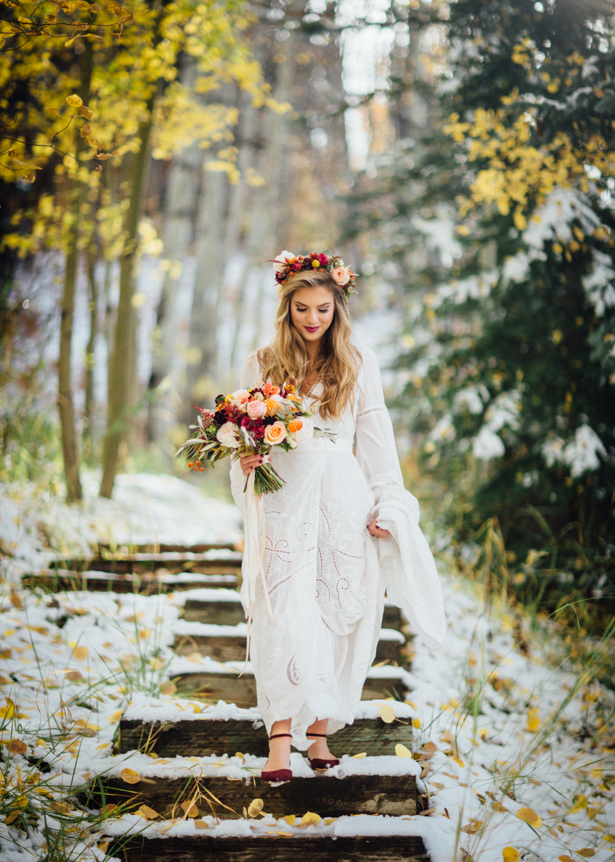 Aspen Boho Wedding | Cat Mayer Studio