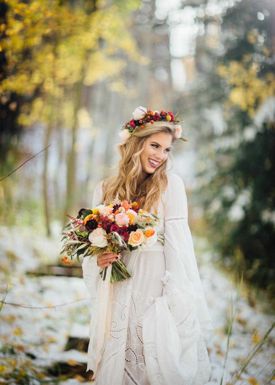 Aspen Wedding | First Look | Cat Mayer