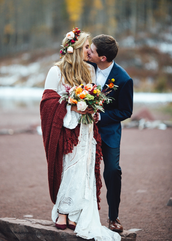 Cat Mayer | Aspen Destination Wedding at Maroon Bells