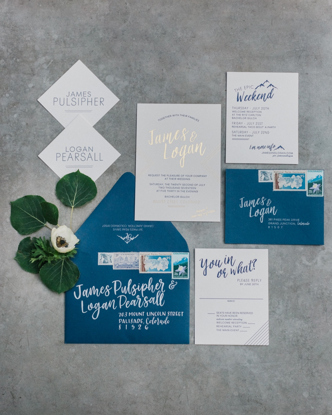 Invitation Suite for Bachelor Gulch Beaver Creek Wedding | Cat Mayer-07.JPG