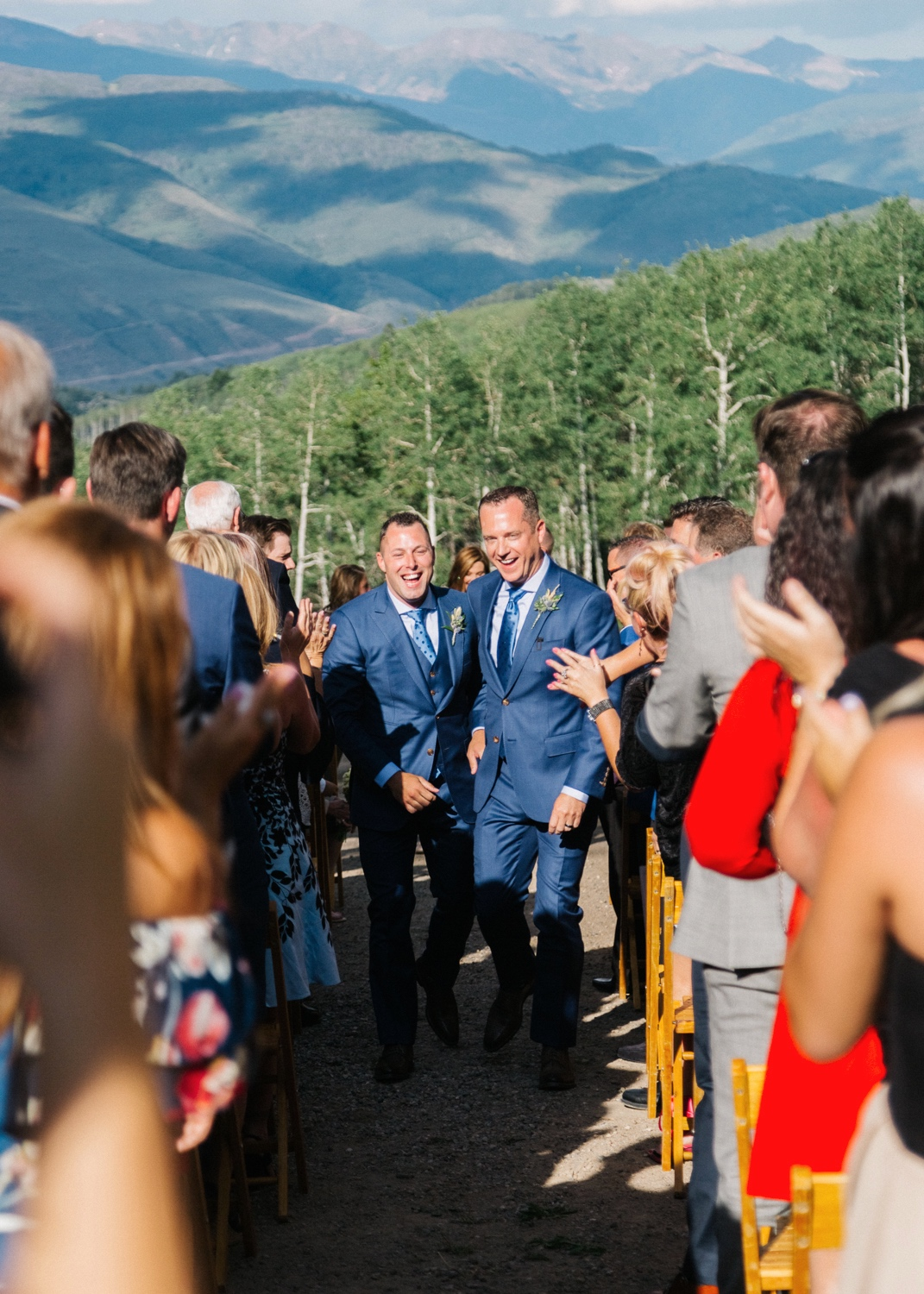 Wedding at Zach's Cabin at Ritz Carlton Bachelor Gulch | Cat Mayer