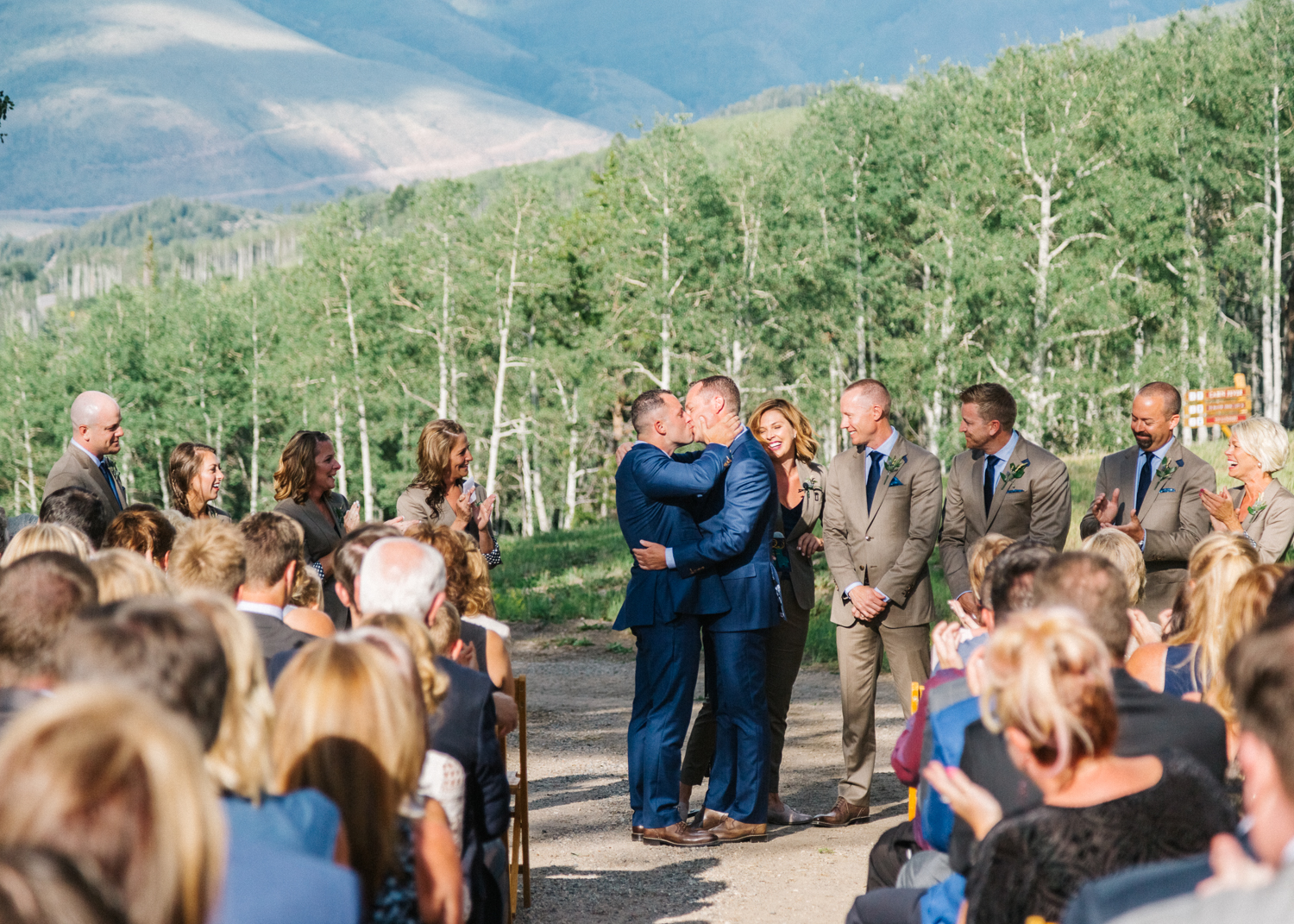 Zach's Cabin Destination Wedding by Cat Mayer Studio