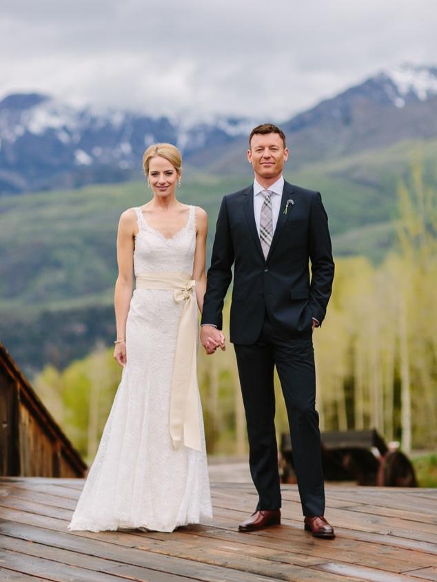Telluride wedding at Gorrono Ranch | Cat Mayer