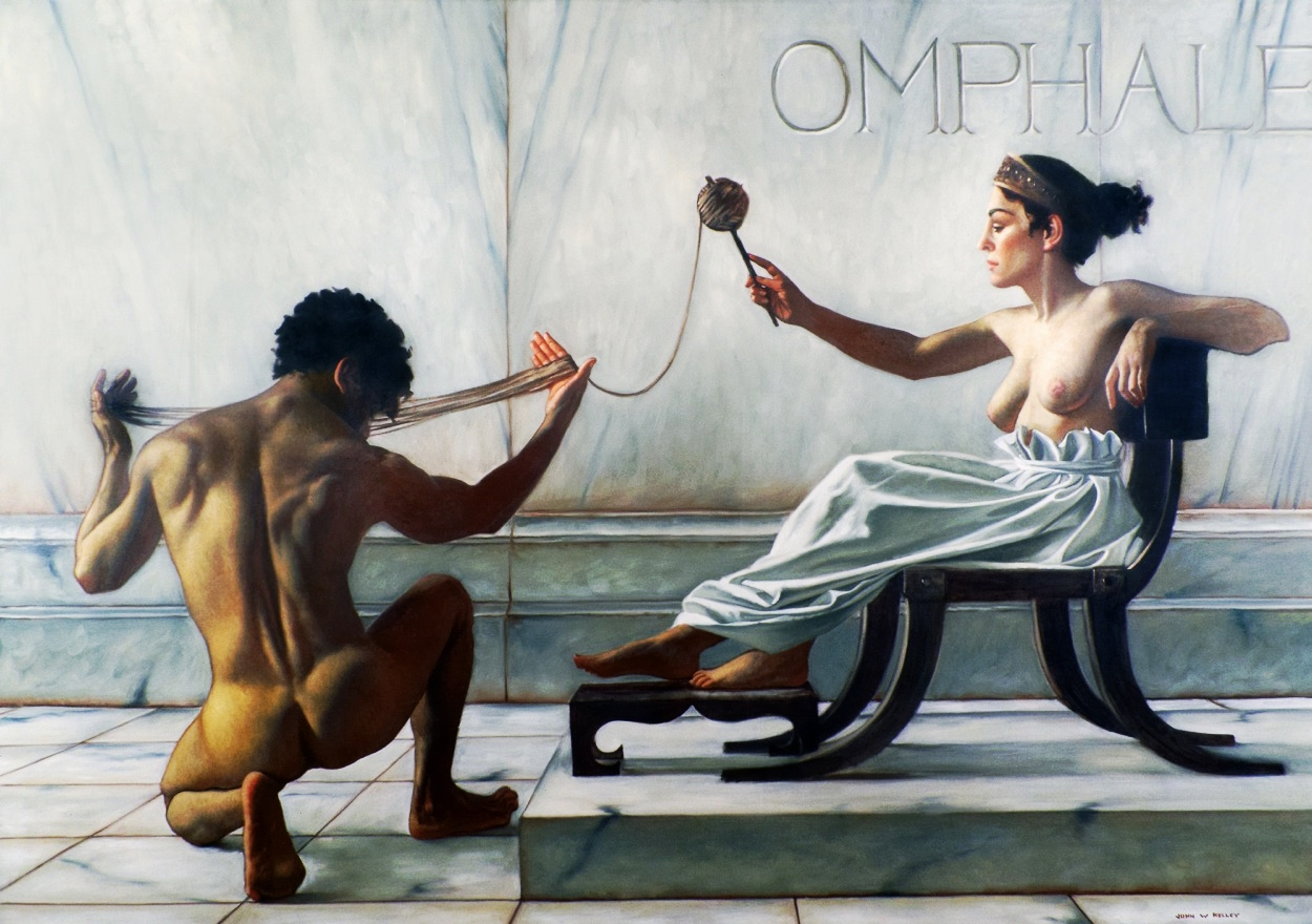 Hercules & Queen Omphale