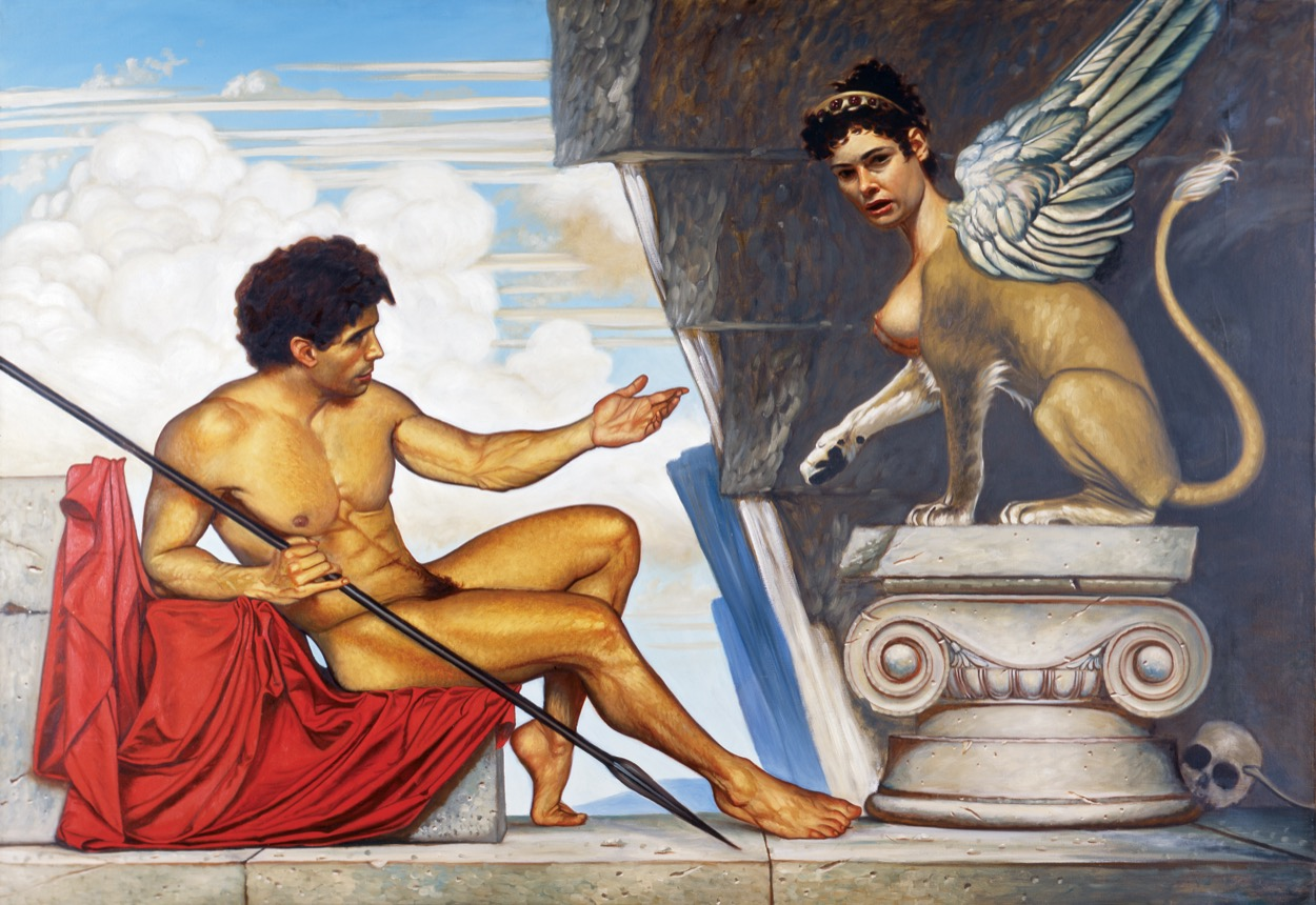 OEDIPUS & THE SPHINX