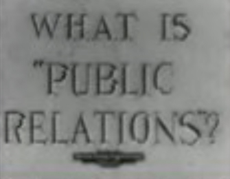 Video shown at The Museum of Public Relations opening at Baruch College CUNY with Paul Garrett, Dan Edelman, Betsy Plank, Ofield Dukes, Chet Burger, Edward Bernays and Marilyn Laurie.  Click to watch the video .