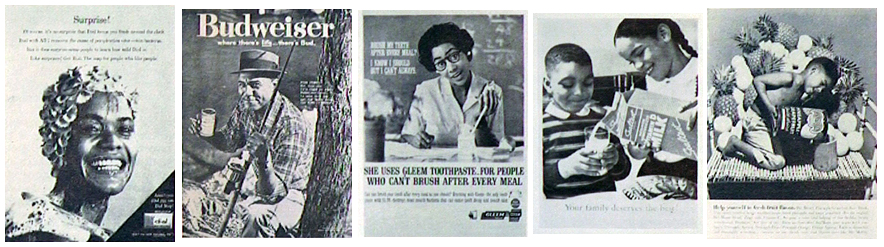 Awareness of the importance of such employment practices is the reason why companies like Pabst Brewing runs ads in Negro media prominently featuring a Negro employee of the company.
