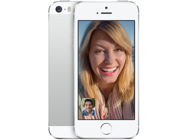 2015: FaceTime on an iPhone