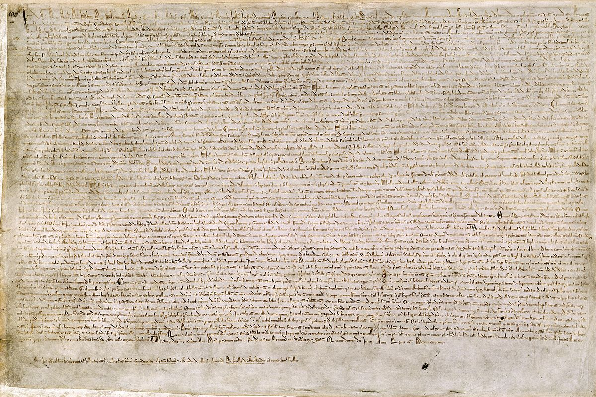 The Magna Carta was signed on June 15, 1215 by King John of England.