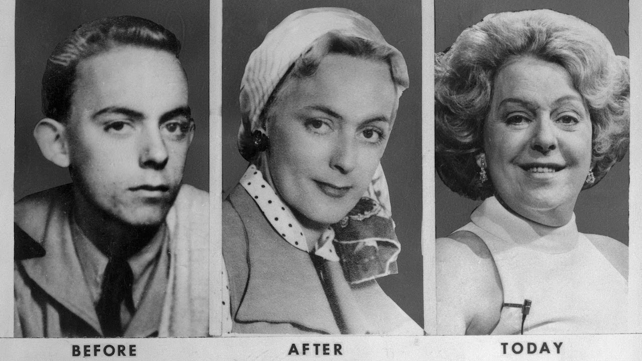 Christine Jorgensen, a transgender woman who gained prominence in the media as a transgender influencer. While she wasn't the first to transition, she certainly started the long road to a paradigm shift in the way society views transgender persons.