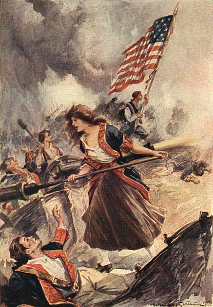 """MOLLY PITCHER."" by George Alfred Williams under CC BY 2.0"