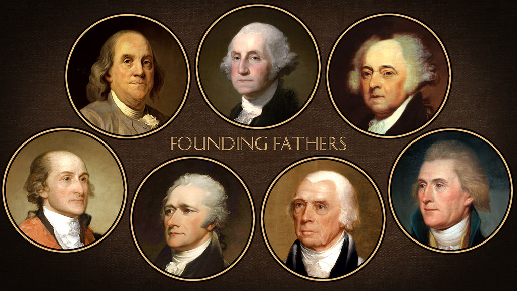 The Founding Fathers   Photo by Flickr.