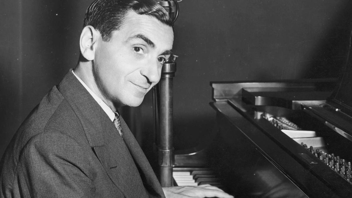 Irving Berlin.   Photo by A&E's Biography
