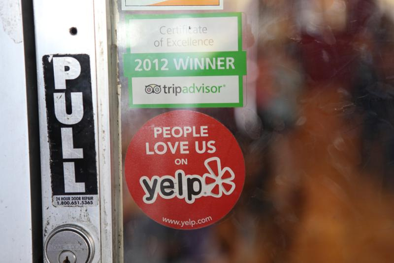 """People Love Us On Yelp"" by Michael Dorausch (Flickr)"