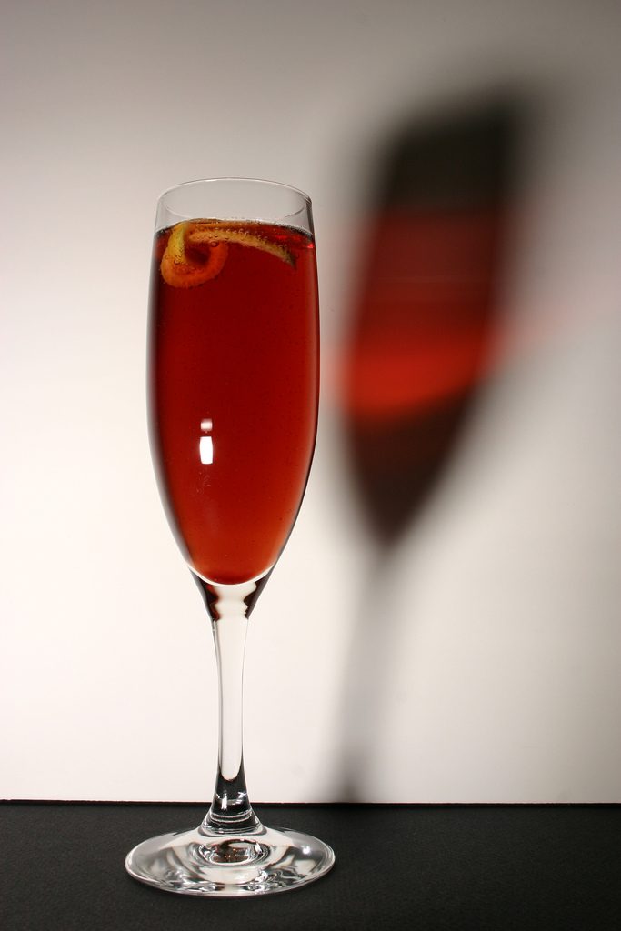 The Kir - With crème de cassis and white wine, the French drink displays sophistication and an interest in the finer things in life.