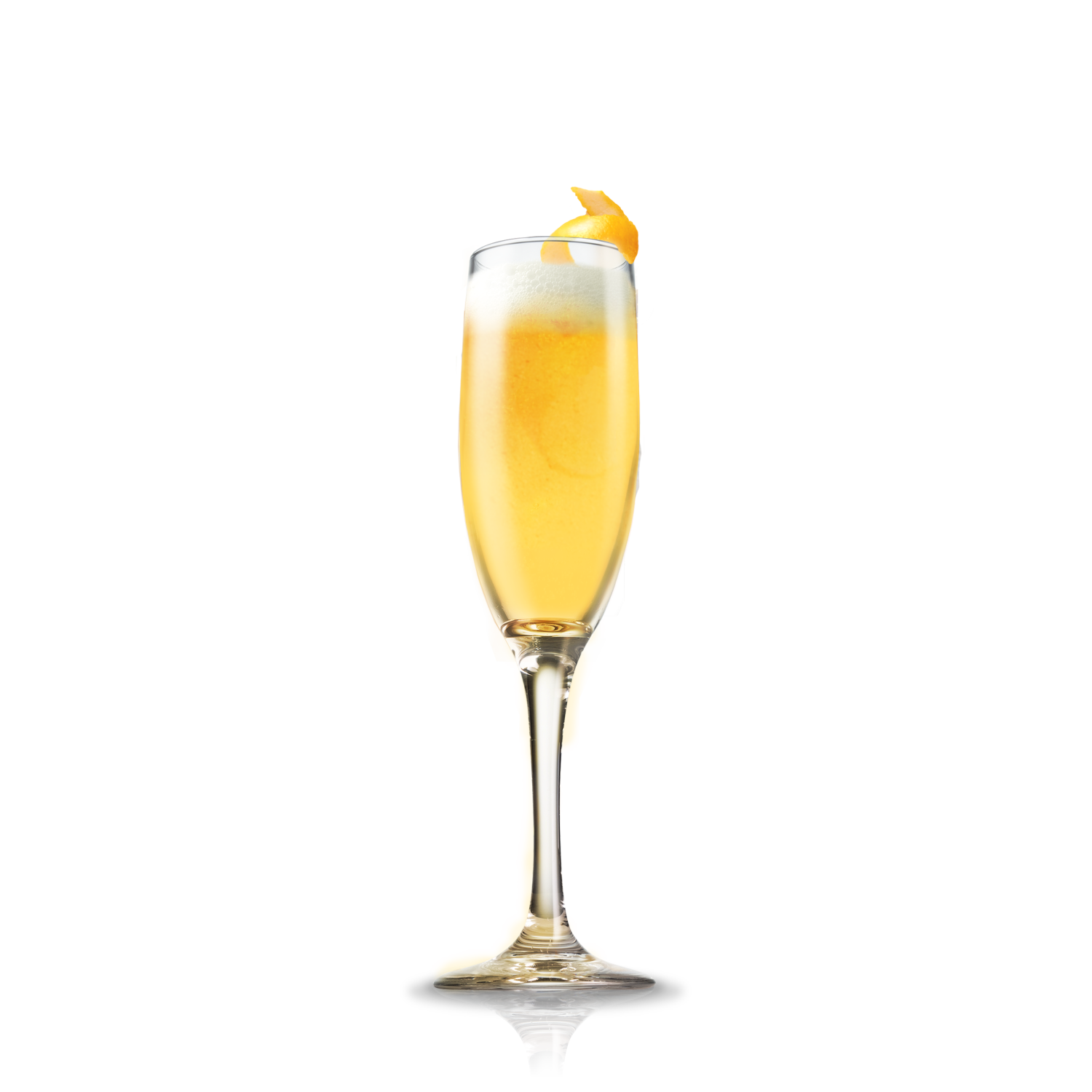 The Mimosa - Mostly ordered at brunch, the delicious half champagne/half citrus juice drink signifies that you're classic, fun, and social.