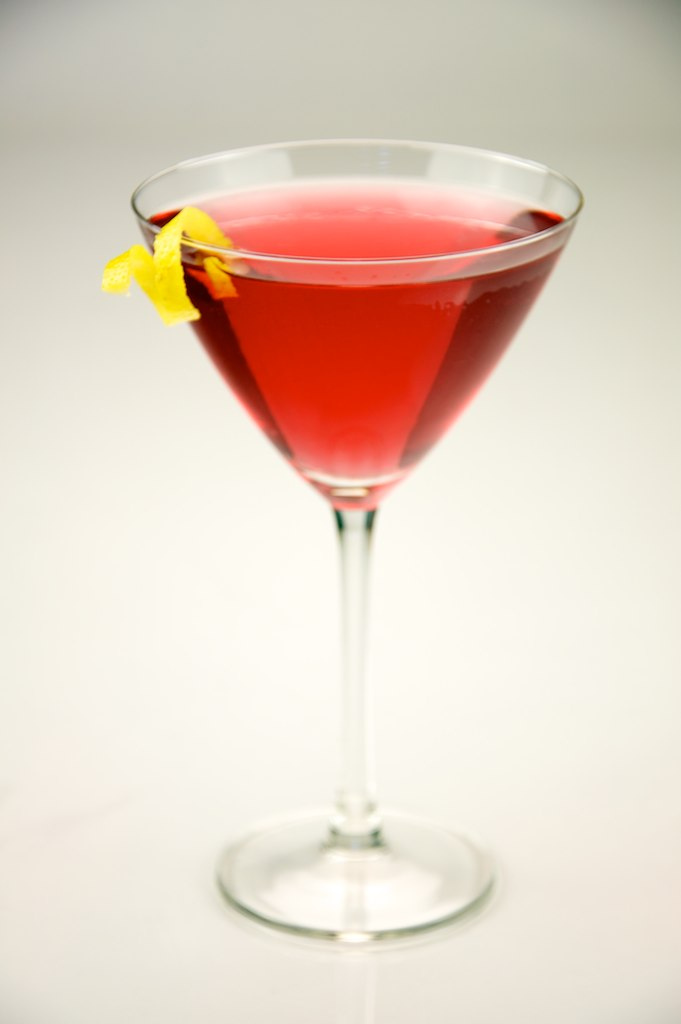 The Cosmopolitan - While tasty and pretty to look at, you can expect others to think of  Sex and the City  upon seeing a cosmopolitan. The drink contains cointreau, cranberry juice, fresh lime juice, and vodka citron.