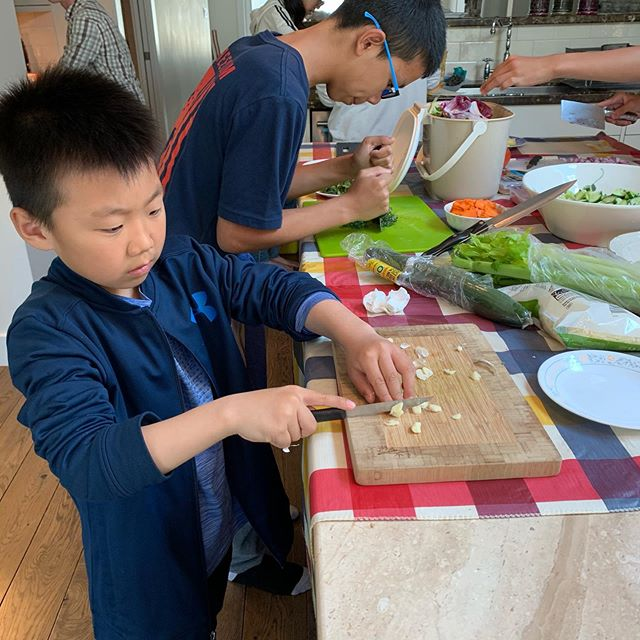 Summer camp 2019: cooking is not a problem for our little talented chefs 🥗🍕🍝🥧👩🏻🍳👨🏻🍳