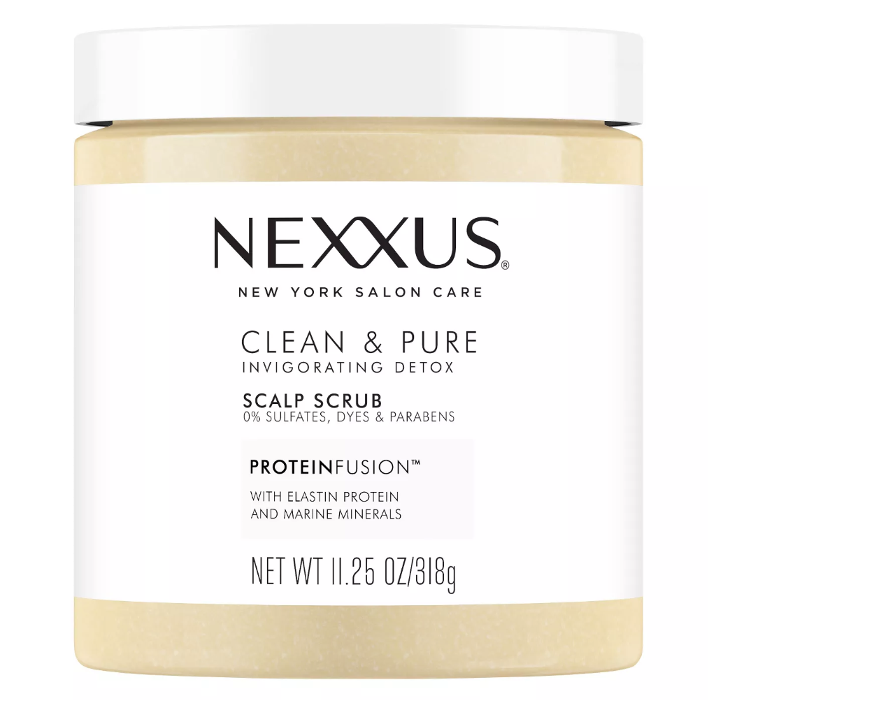 Nexxus Clean and Pure Scalp Scrub - 11.25 fl oz
