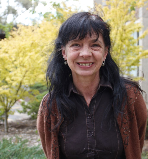 Jeanine Leane  is a Wiradjuri poet and writer. She is currently an Australian Research Council Fellow at ANU. Jeanine's research looks at the development of Aboriginal literature since 1989 through the David Unaipon Award.