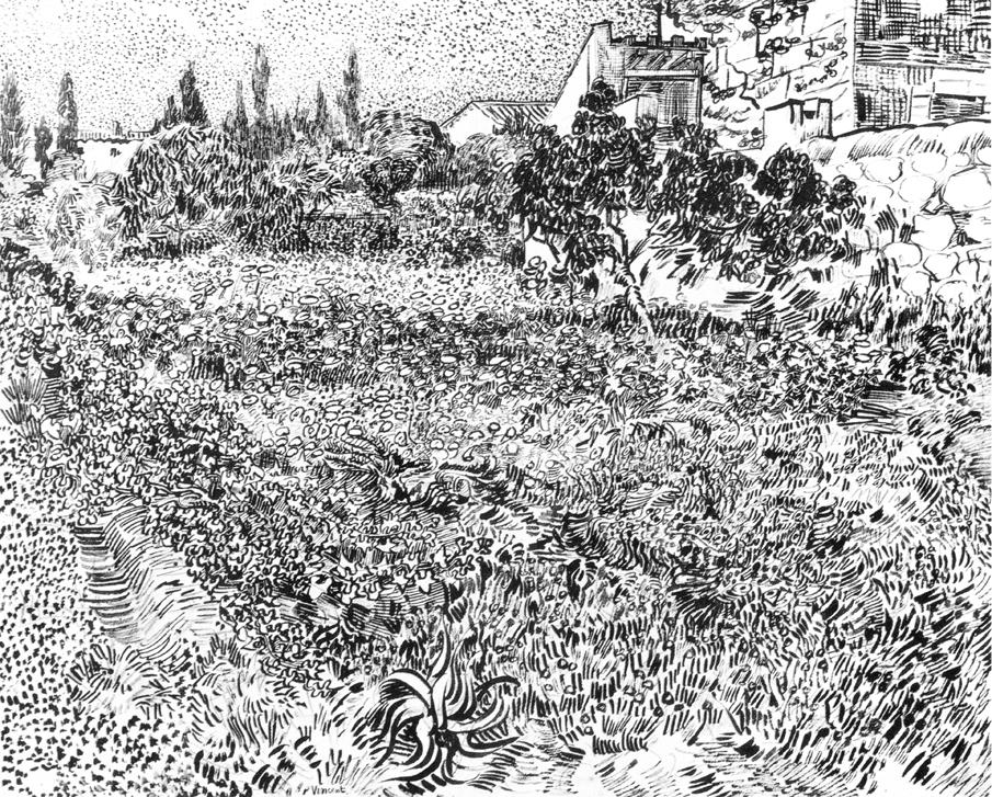 Van_Gogh _-_Garten_mit_Blumen