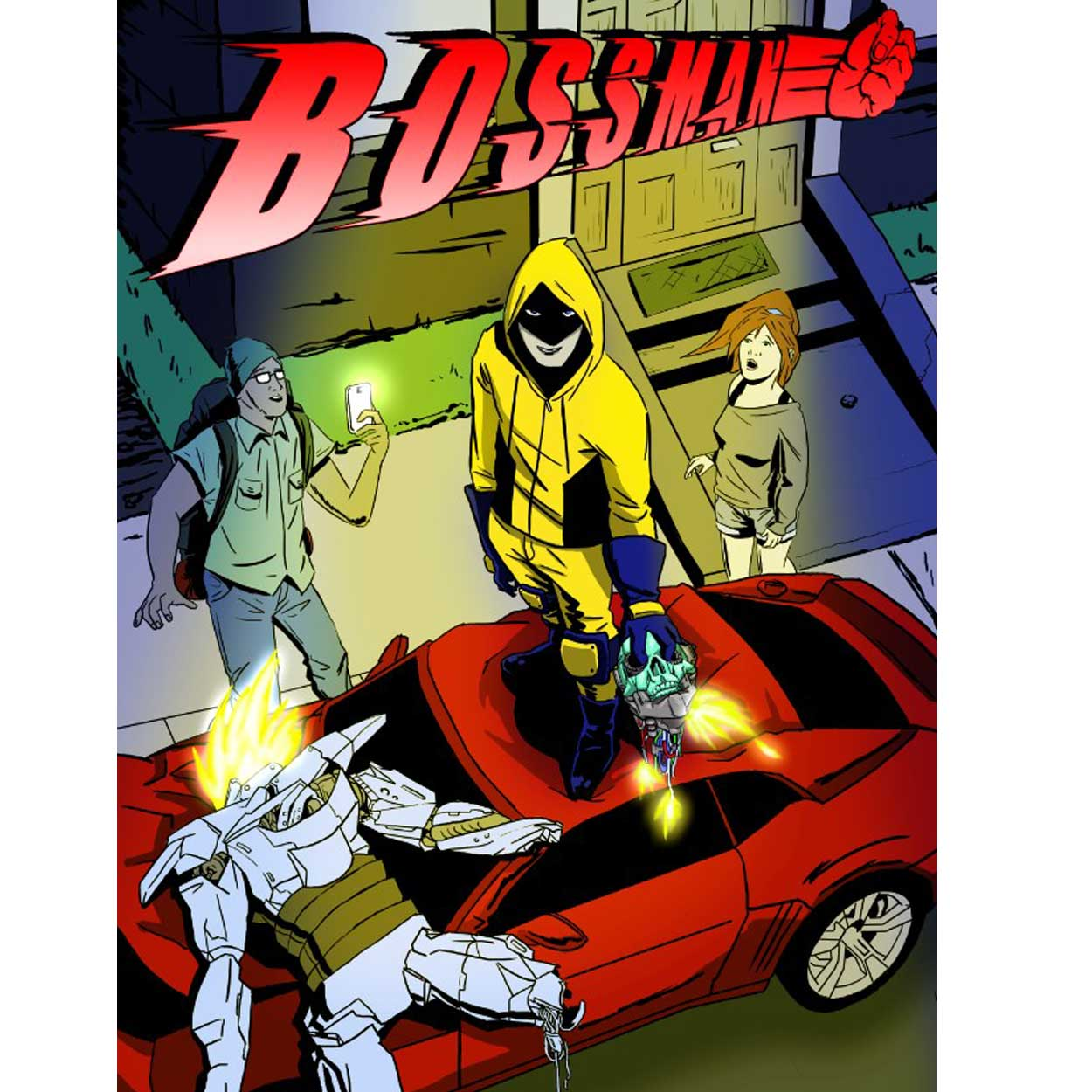 Paddy Hobbes will be selling his comic books, Bossman and his new book  Blood is Thicker .  Find out more here.