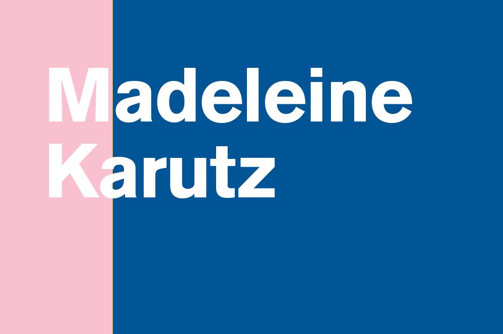 Madeleine Karutz