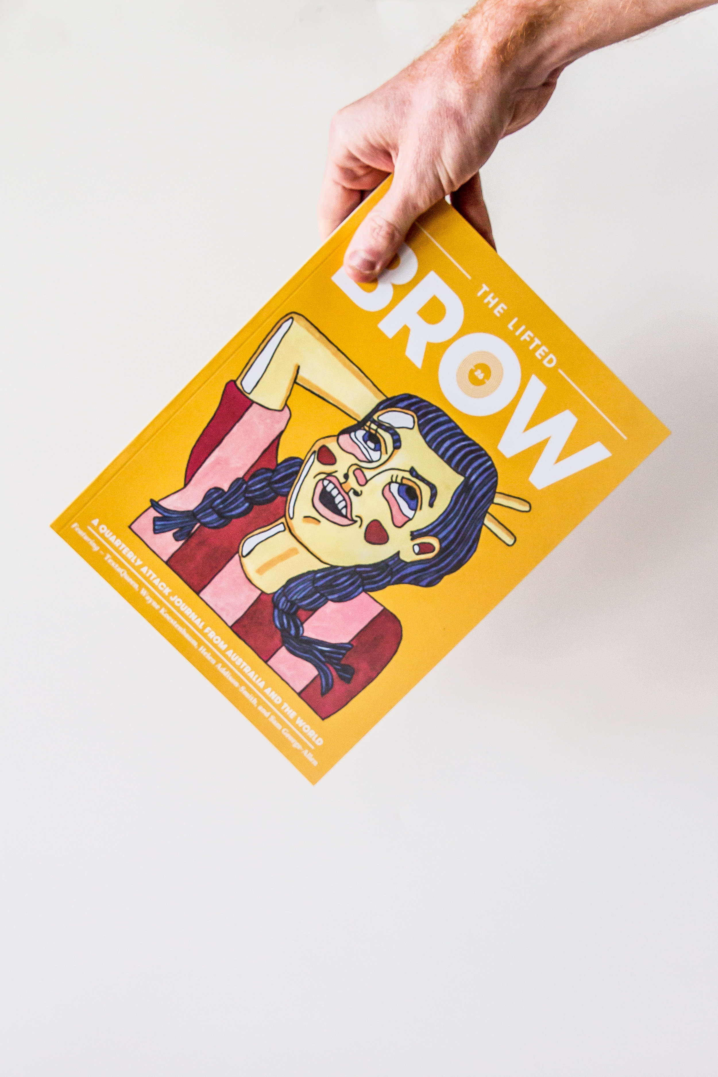 The Lifted Brow  is a quarterly print attack magazine from Australia and the world, publishing literature, visual art, and things in-between. They will be selling copies of TLB, copies of their first book: THE ISLAND WILL SINK by Briohny Doyle, tote bags, t-shirts, and more! Also, they will sell some zines and comics and more from Melbourne zinesters and comics artists and others who can't make the trip.