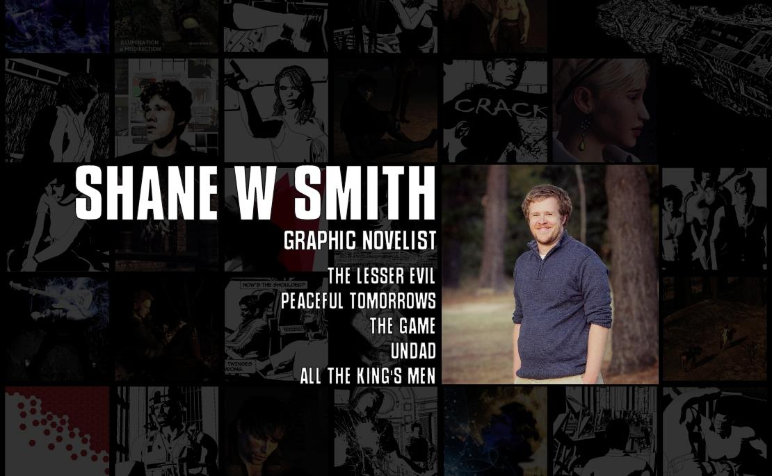 Shane W Smith  is the creator of eight full-length graphic novels, including three which have been shortlisted for national awards. He has a creative writing degree from the University of Canberra, and his oddest achievement is getting a comic published in a refereed academic journal.  Find out more here .