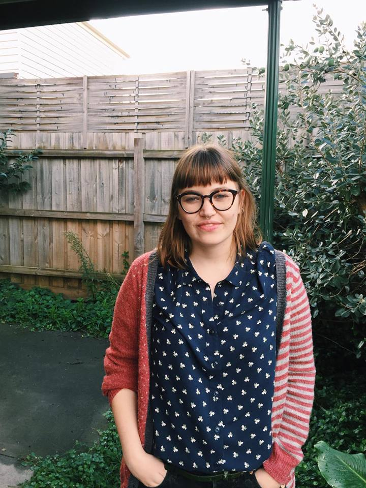 Sian Campbell   is a freelance writer and the Editor in Chief of  Scum Mag . She has been published in Kill Your Darlings, Spook, Going Down Swinging Online, Feminartsy, and Junkee.