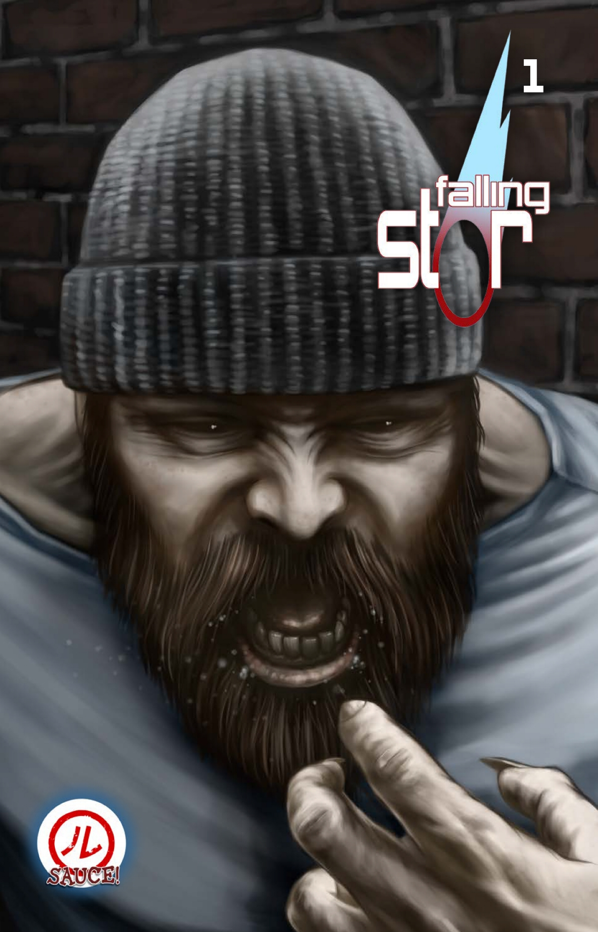Cristian Roux  is the artist and writer of the comic  Falling Star , a modern mythology in the superhero vein. He is currently working on a historical detective story set in Melbourne in the late 1800s.  Find out more here.
