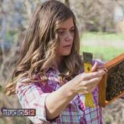 Tara visits Studio 512 to talk bees