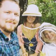 Studio 512 visits Tara to learn about backyard beekeeping!