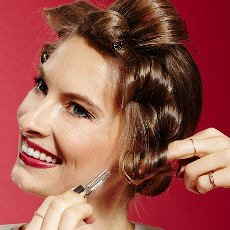 REFINERY 29   3 Glam Spring Looks from Hair to Heels