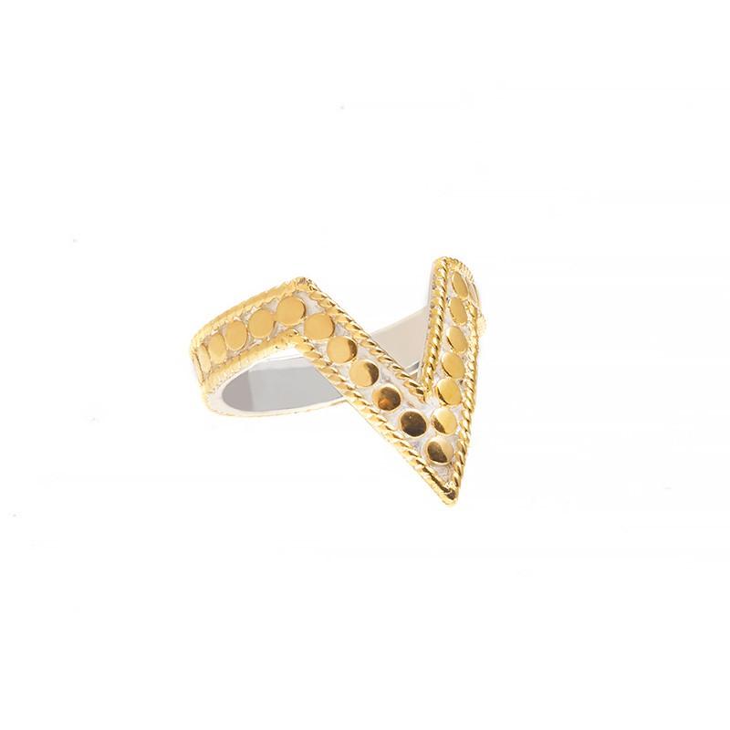Gold & Silver Midi Ring $140