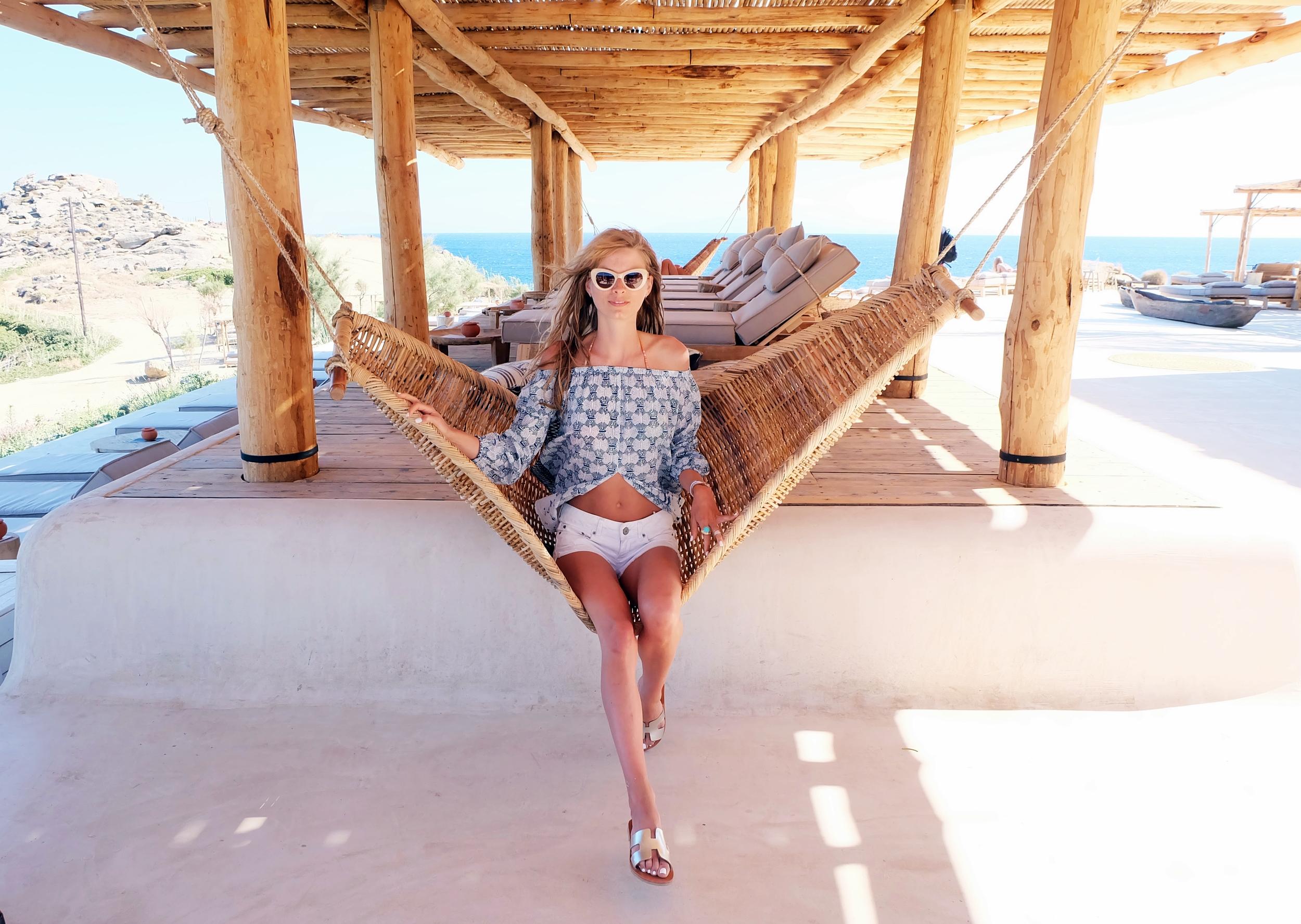 Scorpios beach club (my fave!)