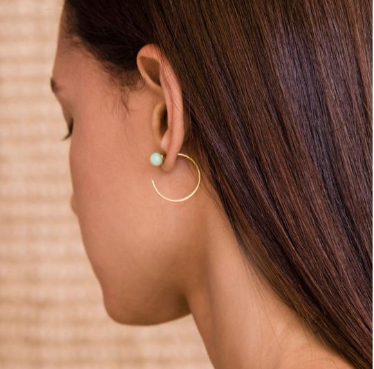 A Peace Treaty Handmade Earrings $140