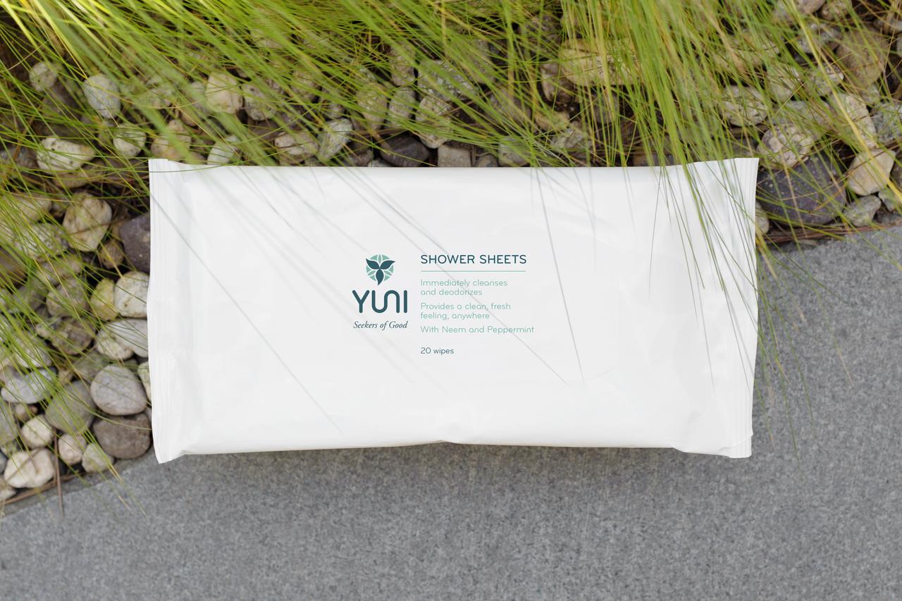 Yuni Shower Sheets $12