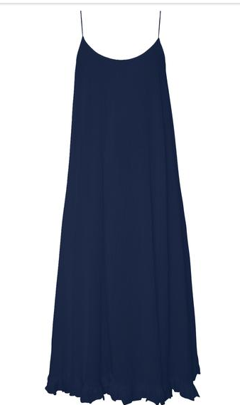 Navy Gauze Dress by Rhode Resort $245