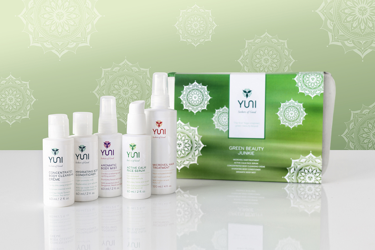 Green Beauty Travel Kit by Yuni SALE $39