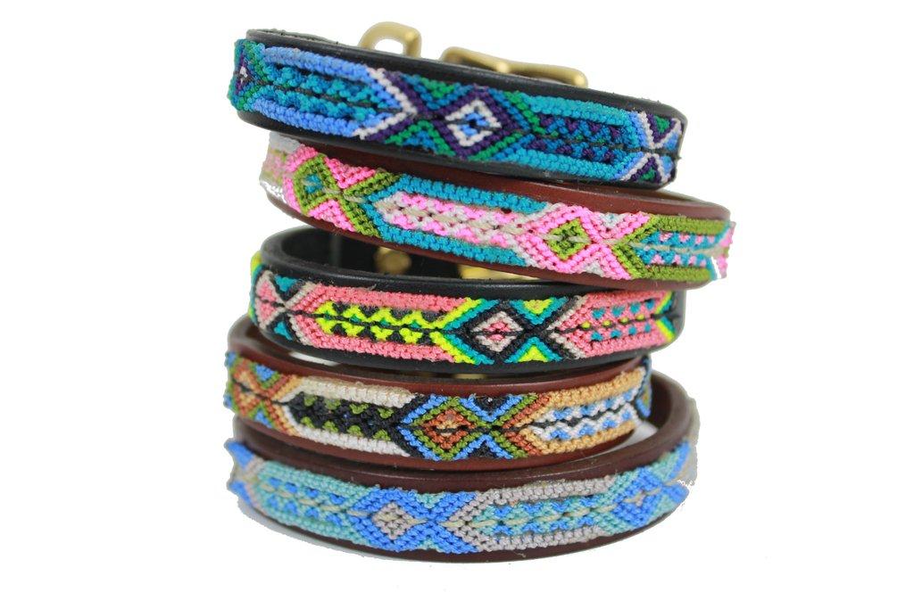Seiba Dog Collar & Matching Bracelet $75 https://www.weareseiba.com/products/handmade-seiba-overlay-dog-collar?variant=25579085955  Because doggies are a girl's best friend