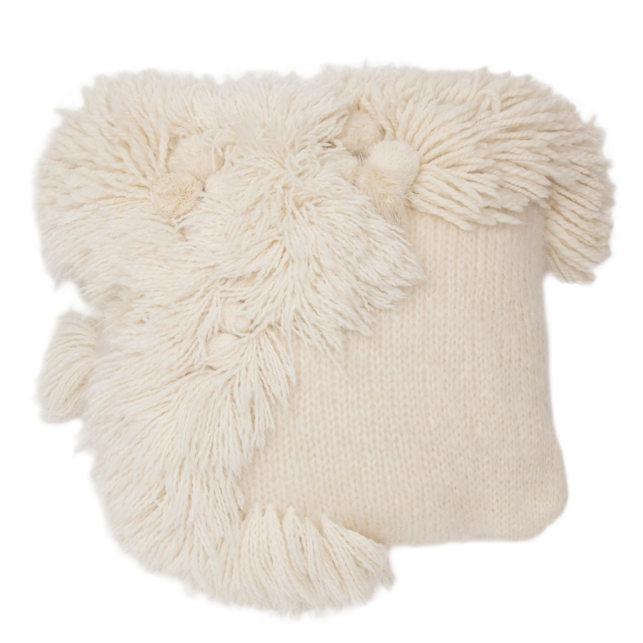 Tabula Rasa Alpaca-Mohair Throw Pillow $595