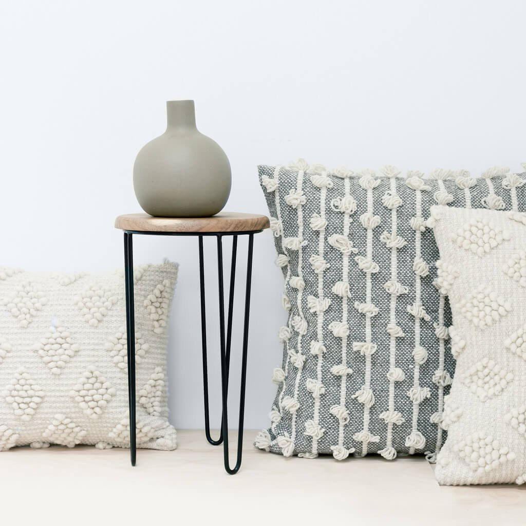 The Citizenry Woven Floor Pillow $225